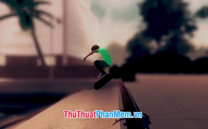 Bạn được lựa chọn nhân vật và lướt ván trượt của mình qua các con phố, vỉa hè