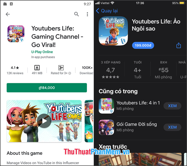 Youtuber Life Gaming