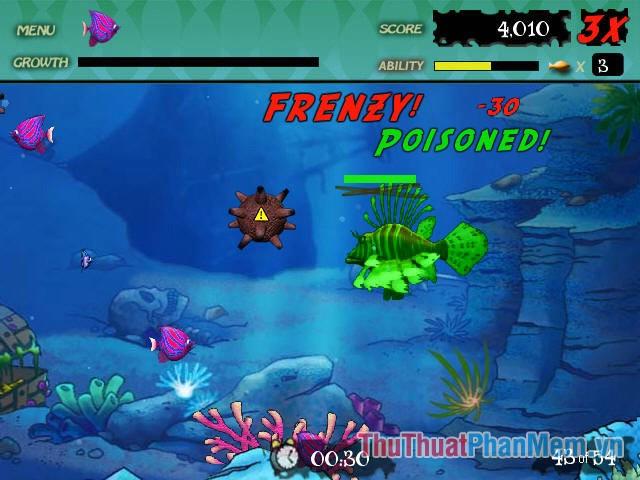 Feeding Frenzy (Cá lớn nuốt cá bé)